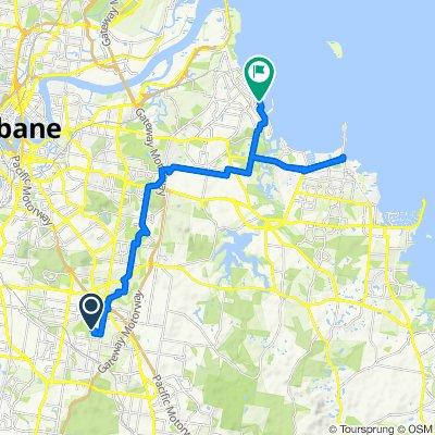 41 Ellendale Circuit, Eight Mile Plains to 2–54 Cambridge Parade, Manly