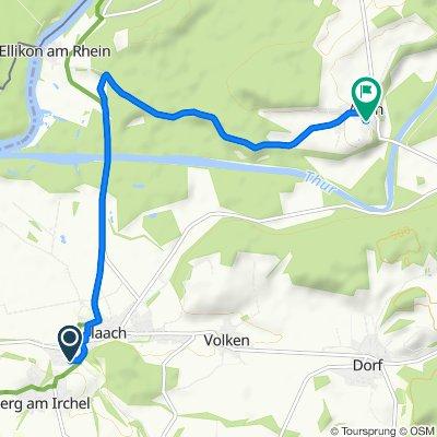 Tuechstrasse 7, Flaach nach Im Zelgli 5, Alten