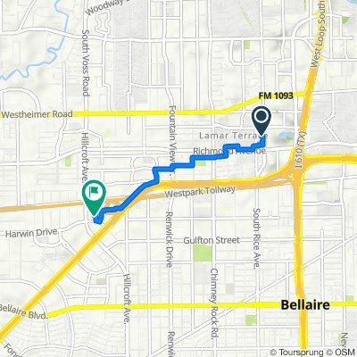 De 3300 Sage Rd, Houston a 6666 Harwin Dr, Houston