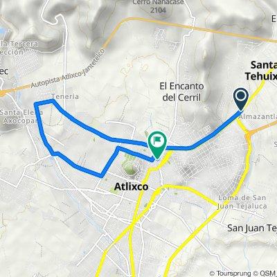 De Carretera Puebla - Atlixco, Atlixco a Calle 16 Ote 204, Atlixco