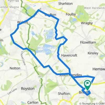 27 Norwood Dr, Barnsley to 17 Spa Well Grove, Barnsley