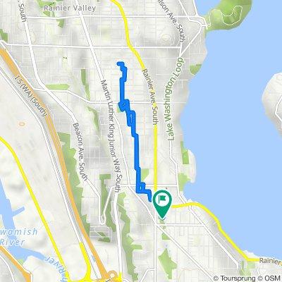 Sturtevant Avenue South 9342, Seattle to Sturtevant Avenue South 9342, Seattle