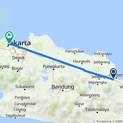 Jalan Sultan Ageng Tirtayasa 198, Kecamatan Talun to RT 001, Benda