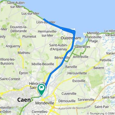 De 136 Rue de la Corderie, Hérouville-Saint-Clair à 1617 Rue des Sources, Mondeville