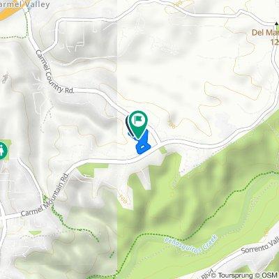 10691 Canyon Grove Trail, San Diego to 10691 Canyon Grove Trail, San Diego