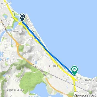 36 Duringan Street, Currumbin to 41 Pacific Parade, Bilinga