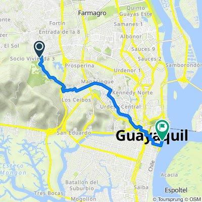 De *Socio Vivienda *, Guayaquil a Malecón Simón Bolivar 2212, Guayaquil