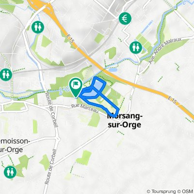 De 3–11 Rue de la Solidarité, Morsang-sur-Orge à 11 Rue de la Solidarité, Morsang-sur-Orge