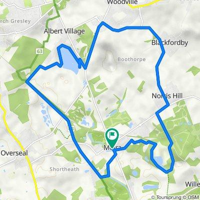 15km route
