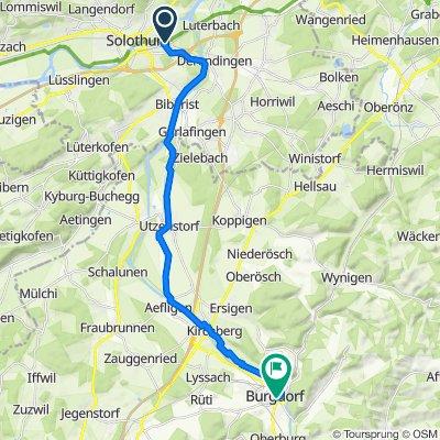 Allmendweg 4B, Zuchwil nach Kirchbühl 23, Burgdorf