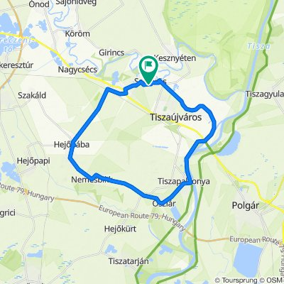 Zrínyi Miklós út 50., Sajóörös to Zrínyi Miklós út 50., Sajóörös