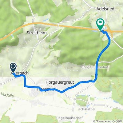 Höhenweg 9, Horgau nach A8, Adelsried
