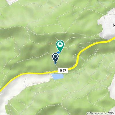 Route nach Hardtwald, Rottweil