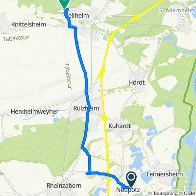 Hauptstraße 52–58, Neupotz nach Maxburgring 17, Bellheim
