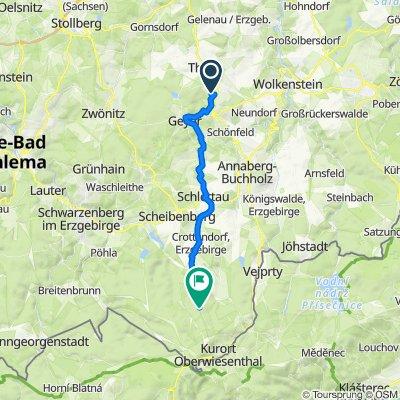 Am Steinbüschel 9, Ehrenfriedersdorf nach Gifthüttenstraße, Sehmatal