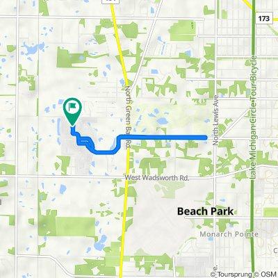 39660 N Warren Ln, Beach Park to 39660 N Warren Ln, Beach Park