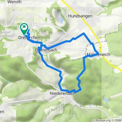 Rundfahrt Dreikirchen-Niedererbach-Malmeneich