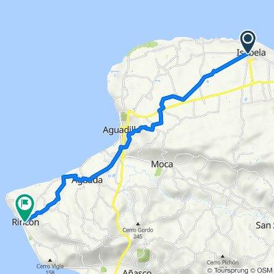 Isabela to Rincon