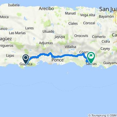 Guancia to Salinas
