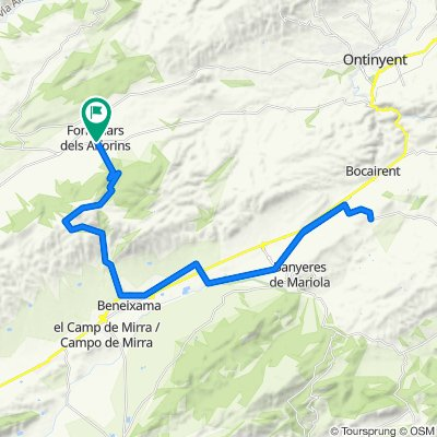 Fontanars-Moro-Beneixama-Portell