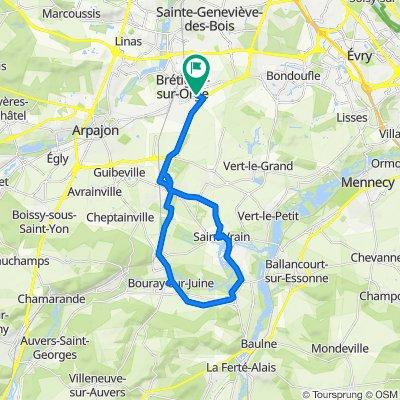 De 51 Avenue Charles de Gaulle, Brétigny-sur-Orge à 47 Avenue Charles de Gaulle, Brétigny-sur-Orge