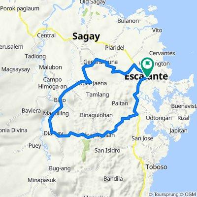 Philippines, Escalante City to East Avenue, Escalante City