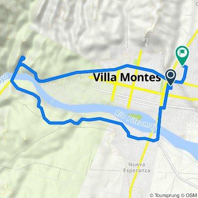 De Villa Montes a Avenida Las Moras, Villa Montes