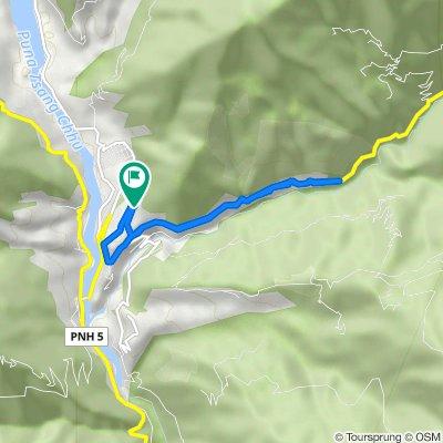 10 km Road, Wangdue Phodrang to Unnamed Road, Wangdue Phodrang