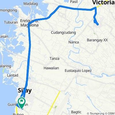 Buenavista Subd, Silay City to Victorias City to Silay City
