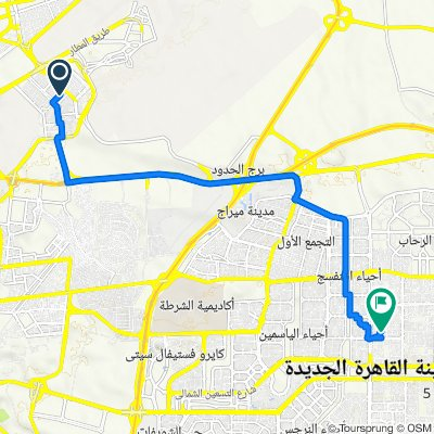 Khaled Ibn Al Walid Street, Al Nozha to Hassan Rashid Street, Awal Al Qahera Al Gadida