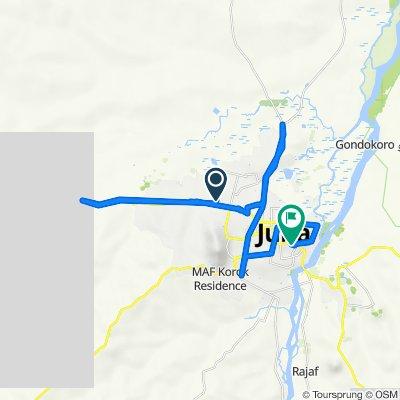Unnamed Road, Juba to جنوب السودان, جوبا