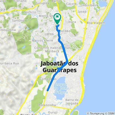 De Rua Jornalista Nelson Rodrigues, 12, Recife a Rua Ministro Paschoal Carlos Magno, 5, Recife