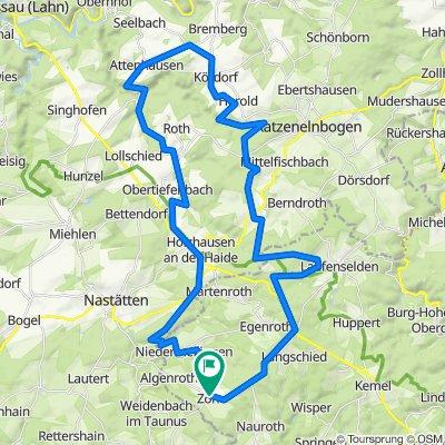 Weidenbach Radfahren