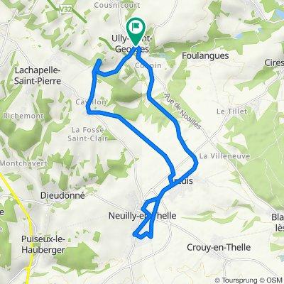 De 15 Rue de Mouy, Ully-Saint-Georges à 15 Rue de Mouy, Ully-Saint-Georges