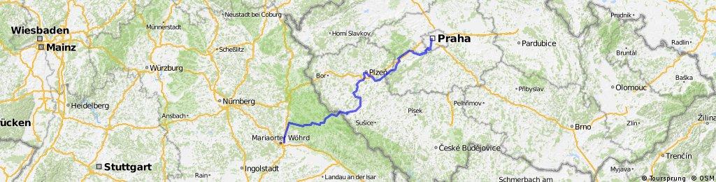 Praha-Regensburg