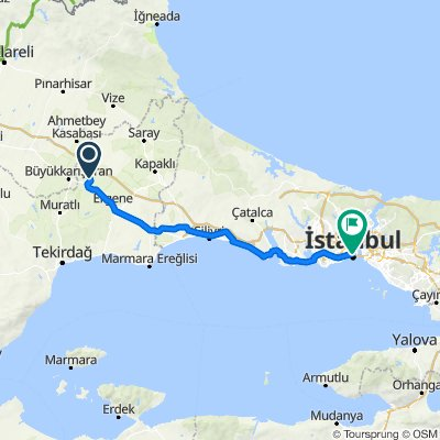 Ergene to Istanbul (Day 32)