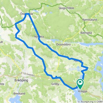 Härkeberga-Torstuna-Österunda-Nysättra-Hjälsta-Segersta