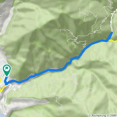 Unnamed Road, Wangdue Phodrang to Unnamed Road, Wangdue Phodrang