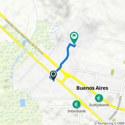 Ruta a Urb los Alamos, Nuevo Chimbote