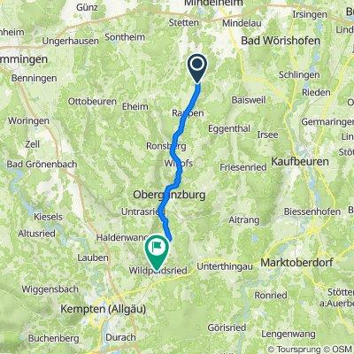 MN5 22, Unteregg nach OA18 13, Wildpoldsried