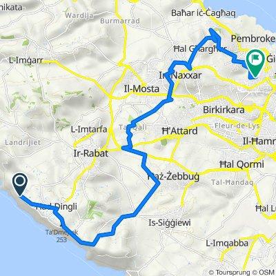 Dingli to San Gwann (Return)