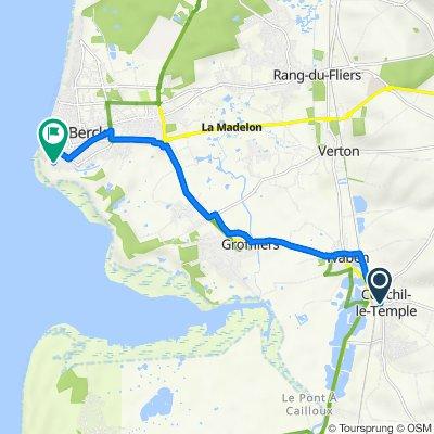 De 2–4 Route de Nempont, Conchil-le-Temple à Avenue du Phare, Berck