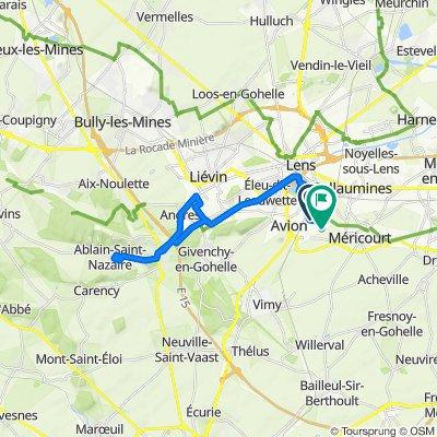 De 6–8 Rue Arthur Lamendin, Avion à 4 Rue des Moulineurs, Avion