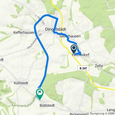 Helmsdorf 1- Hinfahrt