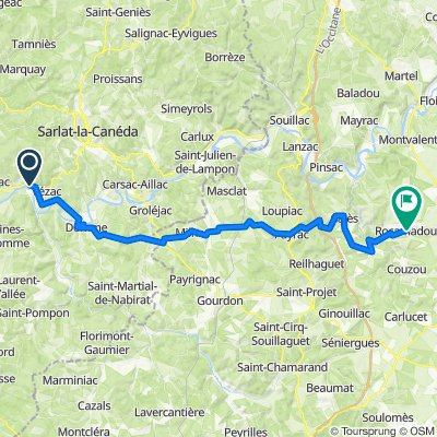 Périgord 2 - Beynac > Rocamadour