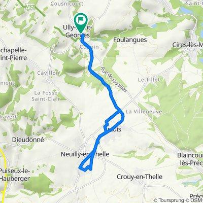 De 17 Rue de Mouy, Ully-Saint-Georges à 15 Rue de Mouy, Ully-Saint-Georges