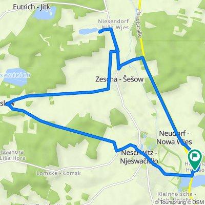 Holscha 11, Neschwitz nach Holscha 11, Neschwitz