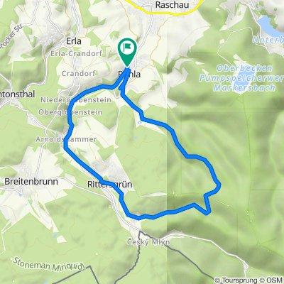 Am Pfeilhammer 7, Schwarzenberg/Erzgebirge nach Am Pfeilhammer 7, Schwarzenberg/Erzgebirge