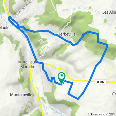 De 11–17 Rue des Harias, Mareil-sur-Mauldre à 11–17 Rue des Harias, Mareil-sur-Mauldre