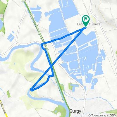 De 1 Rue des Étangs, Chemilly-sur-Yonne à 2 Rue des Étangs, Chemilly-sur-Yonne